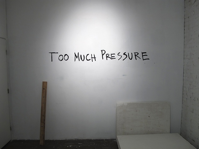 Too Much Pressure
