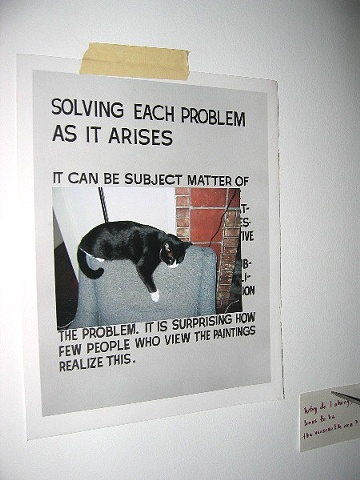 Solving Each Problem as It Arises