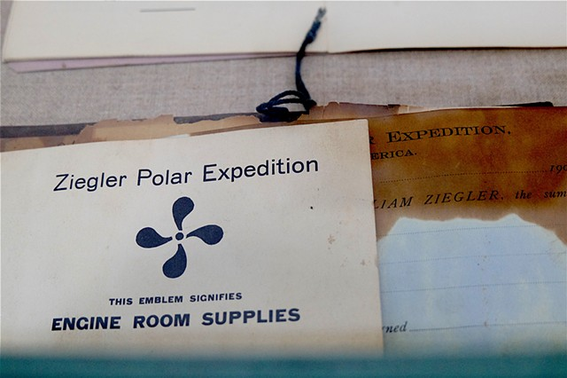 Ziegler/ Fiala expedition engine room supply booklet