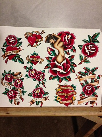 Sailor Jerry painting