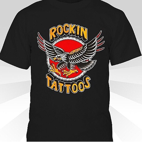 Rockin Tattoos eagle design by Joseph