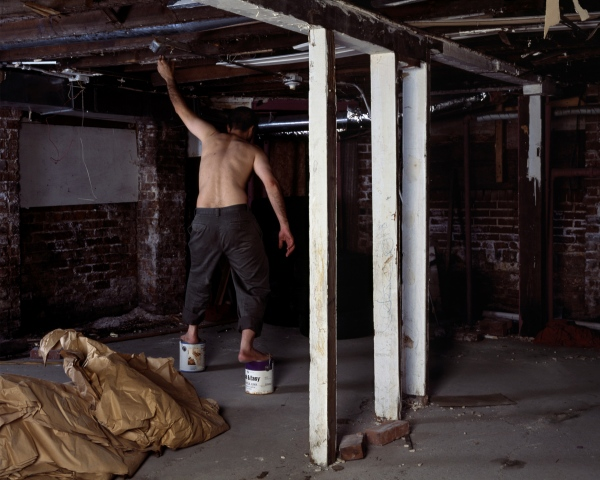 Untitled, from the series Basement Performances