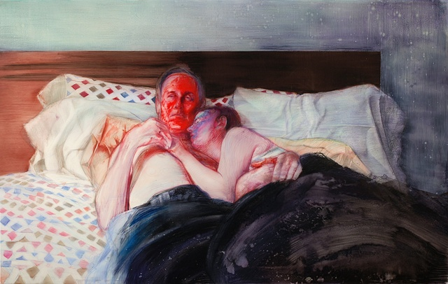 bed (red face)