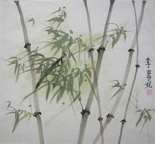 Green Bamboo, Large
