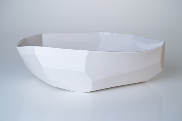Large Facet Bowl