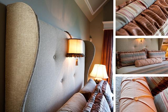 Custom Bed & Bedding