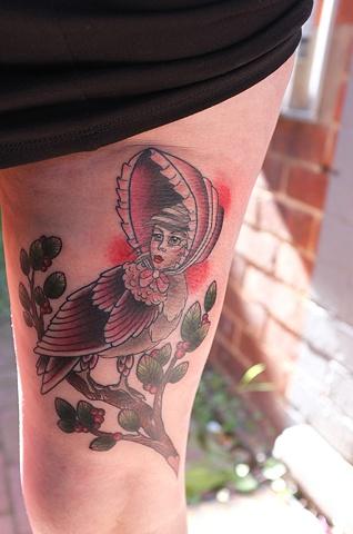 Bonnet Lady Bird by Kitty Dearest.