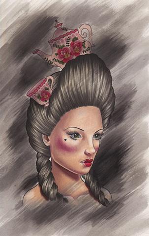 Tea Girl by Kitty Dearest.