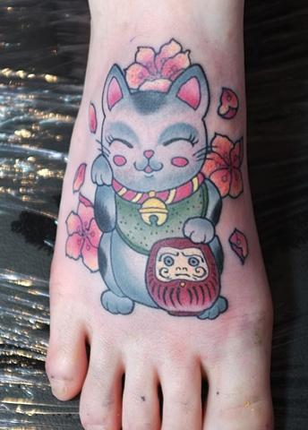 Right Lucky Cat by Kitty Dearest
