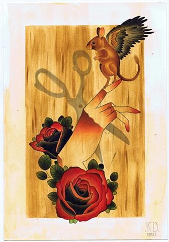 Laboratory Mouse by Kitty Dearest.