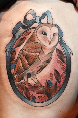 Barn Owl by Kitty Dearest