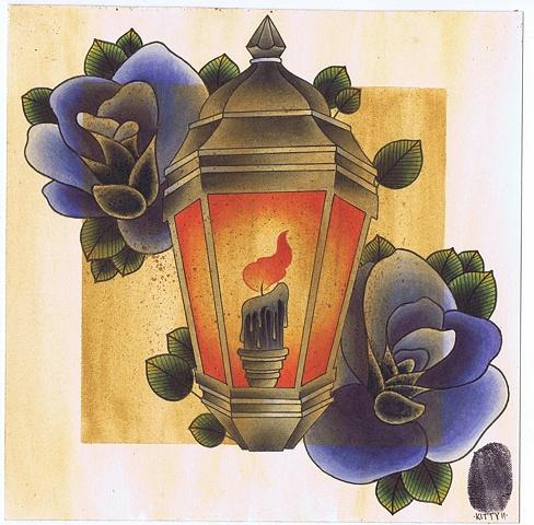 Lantern by Kitty Dearest.