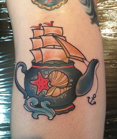 Teapot Ship by Kitty Dearest