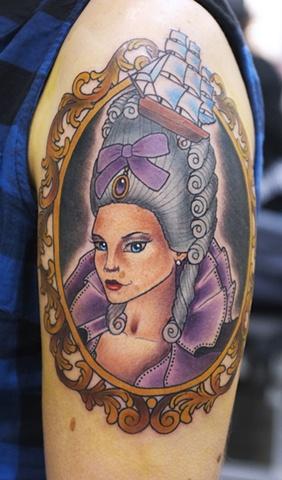Marie Antoinette Girl by Kitty Dearest