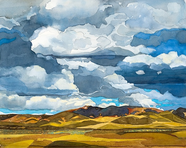Idaho Landscapes By Sandra Shaw Clouds Over Fairfield