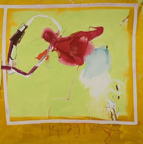 Polaroid Mirana Zuger Abstract Painting Abstraction