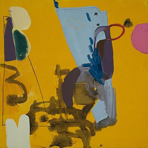 Clockwork Orange Mirana Zuger Abstract Painting Abstraction