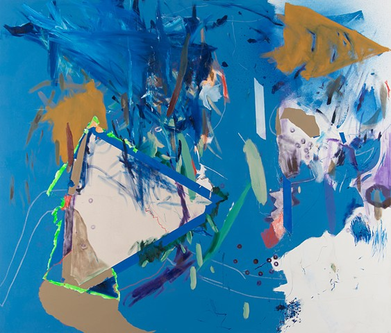 Squall, Mirana Zuger, Abstraction, oil on canvas, Abstract, New York City
