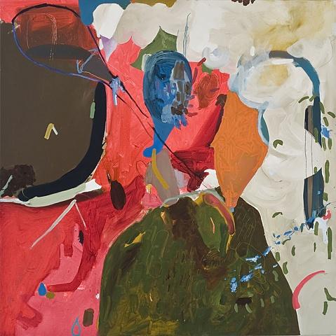 Mirana zuger Painting Abstraction oil on canvas 2010 Balun 2