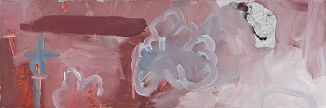 Cloud 59 Painting Abstraction oil on canvas 2010
