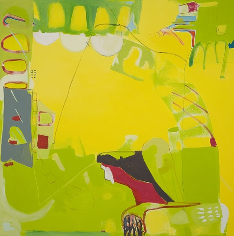 Jaglac oil on canvas 2008 Abstract Mirana Zuger 2008 Painting Abstraction