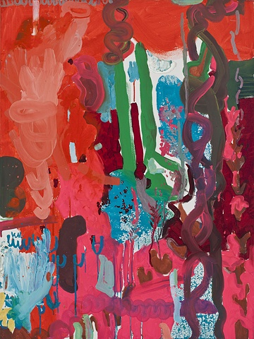 Painting Abstraction oil on canvas 2010 Mirana Zuger Abstract