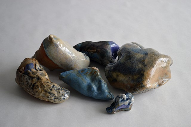Mirana Zuger, Forms for Floating, Ceramic, Abstract