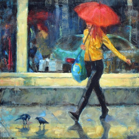 Rainy Days and Mondays (SOLD)