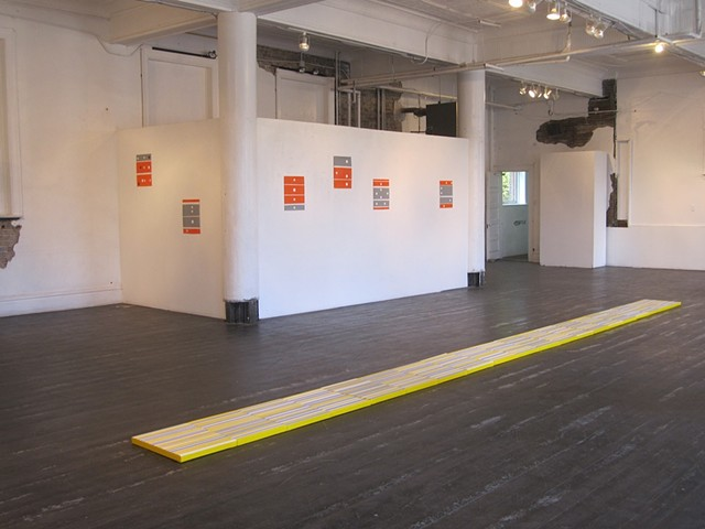 Activating Space New Works: Gallery Image