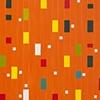 Orange Grid Color Study