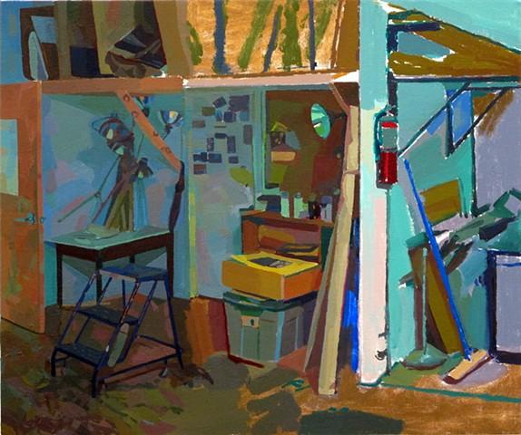 Shadowy Office (in progress)