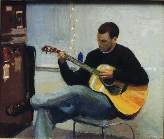 Brad with Guitar