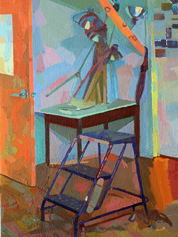 Shadowy Office (detail)