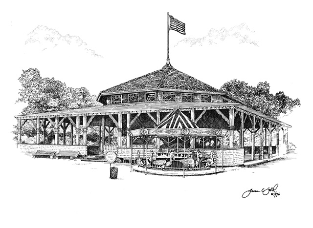 The Carousel, Waldameer Park, Erie, PA USA