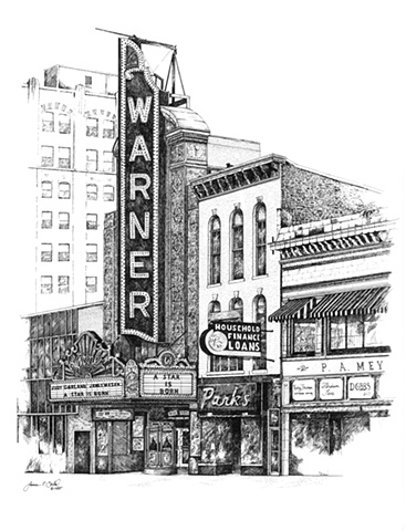 Warner Theatre, Erie, PA USA