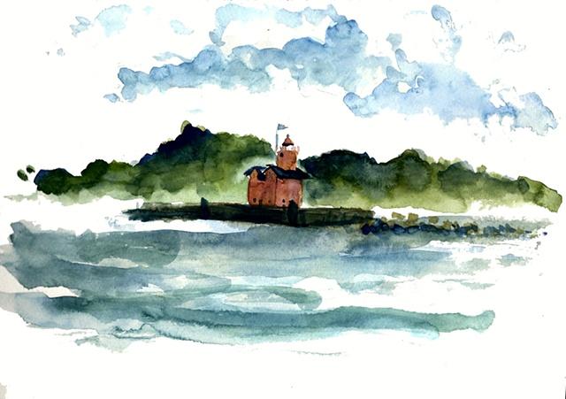 Red Lighthouse I