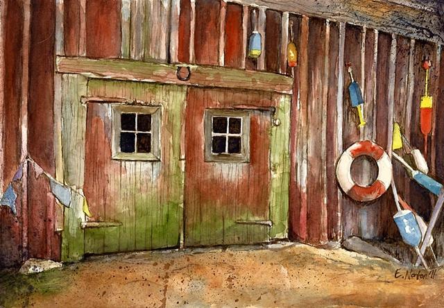 Barn and Buoys