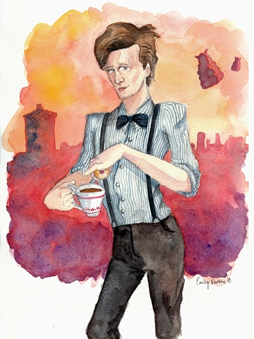 Tea, Jammy Dodgers, and Daleks