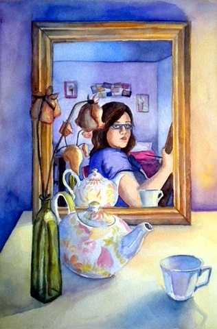 Self-Portrait in Mirror