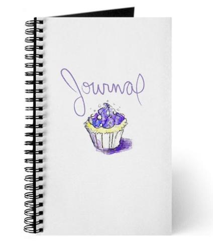 Cupcake Journal Mock-Up