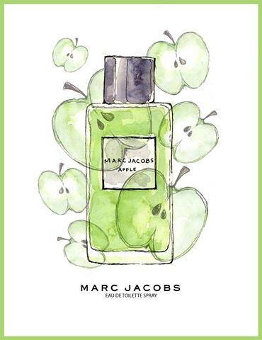Marc Jacobs Perfume Ad Apple