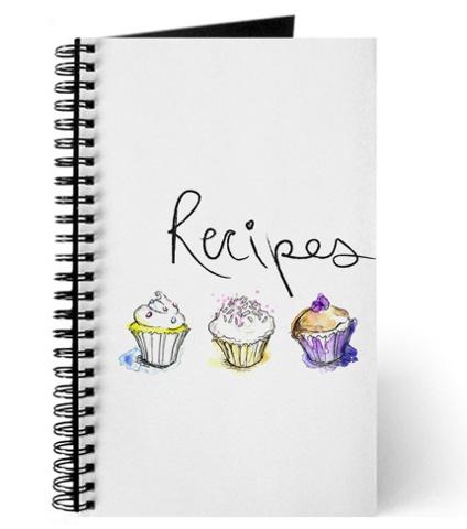 Cupcakes Recipe Book Mock-Up