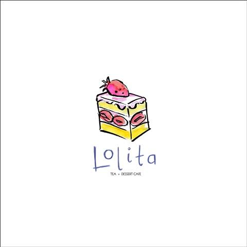 Lolita Cafe Napkin Design - Cake