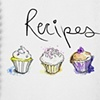 Cupcakes Recipe Book Mock-Up