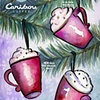 Caribou Coffee Holiday Print Ad