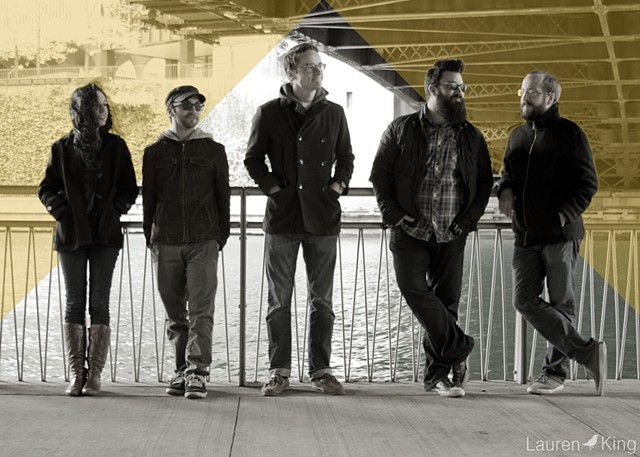 Promotional photography design created for Chicago band Cavalier