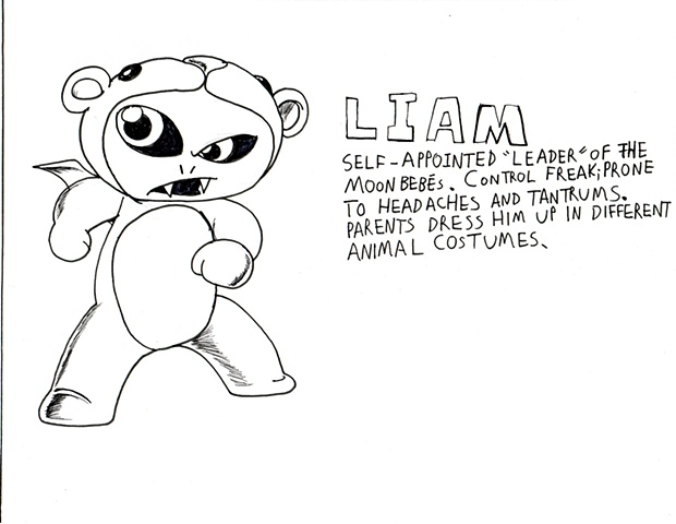 Page 20 - Character Profile: Liam