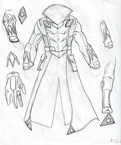 General Deroguant Coat Concept