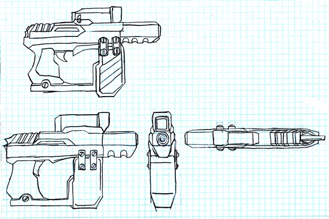 Handgun Orthos Sheet