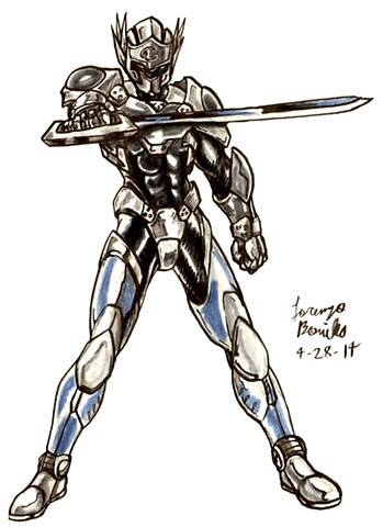 Theme #1: Armored Characters - Cancer Knight